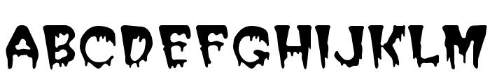 PostCrypt Regular Font UPPERCASE