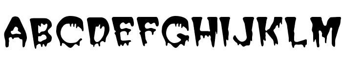 PostCrypt Regular Font LOWERCASE