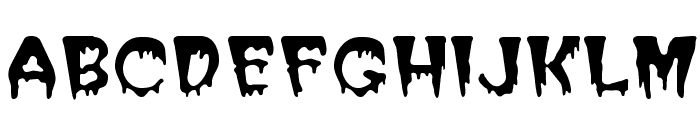 PostCrypt Font UPPERCASE