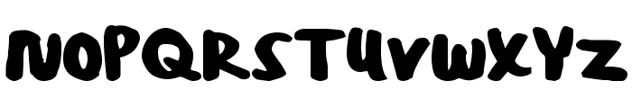 PosterBold Font UPPERCASE