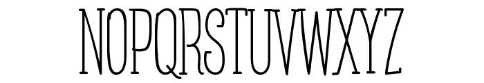 Posteratus-Rex Font UPPERCASE
