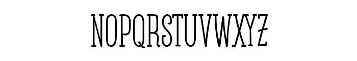 Posteratus-Rex Font LOWERCASE