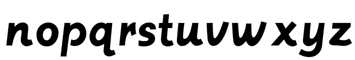 Postface Font LOWERCASE