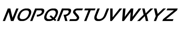 Postmaster Italic Font UPPERCASE