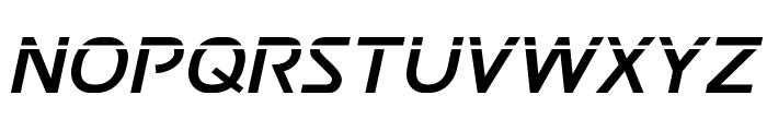 Postmaster Laser Font UPPERCASE