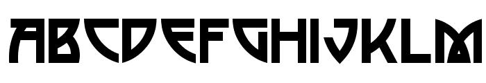 Postmodern One Font UPPERCASE