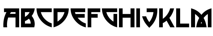 Postmodern One Font LOWERCASE