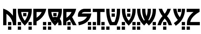 Postmodern Two Font LOWERCASE