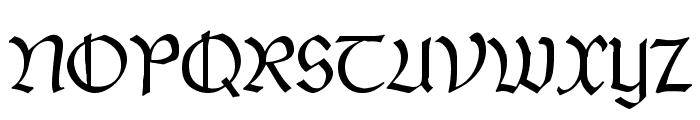 PostmoderneFraktur Font UPPERCASE