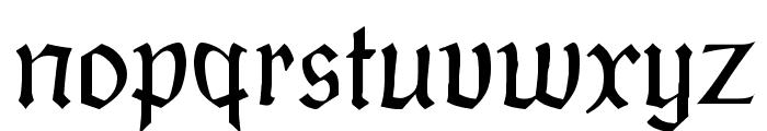 PostmoderneFraktur Font LOWERCASE