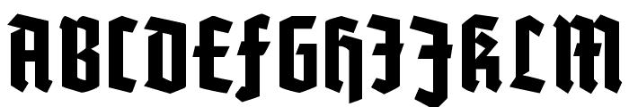 Potsdam Font UPPERCASE
