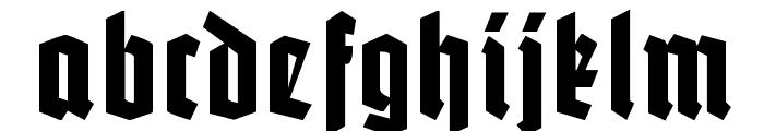 Potsdam Font LOWERCASE
