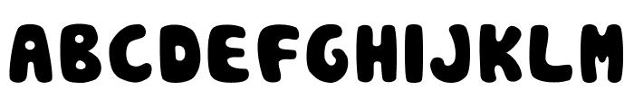 Pou Font UPPERCASE