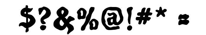 Poultrygeist Font OTHER CHARS