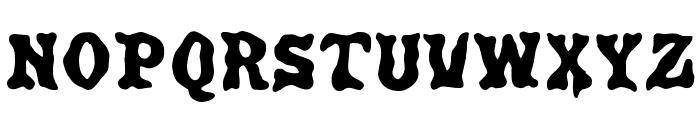 Poultrygeist Font UPPERCASE