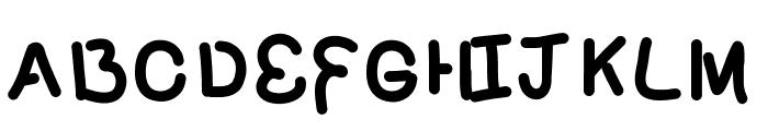 PoundCake69 Font UPPERCASE