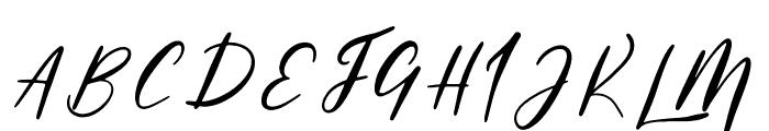 Powder Font UPPERCASE