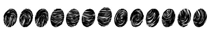 Powderfinger Pad Font LOWERCASE