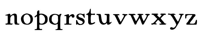 Powell Antique Font LOWERCASE