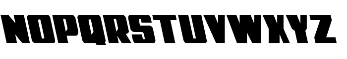 Power Lord Leftalic Font LOWERCASE