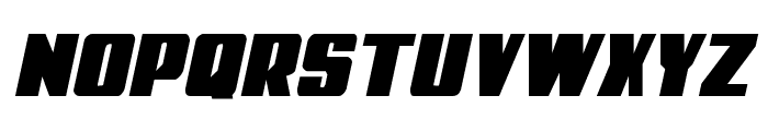 Power Lord Semi-Italic Font LOWERCASE