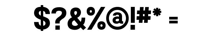 Powerhouse Sans Bold Font OTHER CHARS