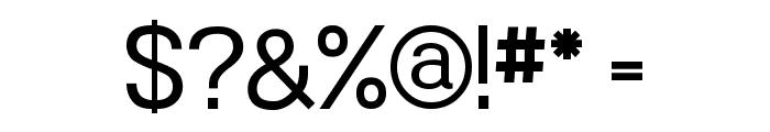 Powerhouse Sans Font OTHER CHARS