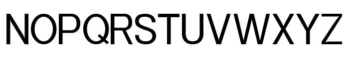Powerhouse Sans Font UPPERCASE