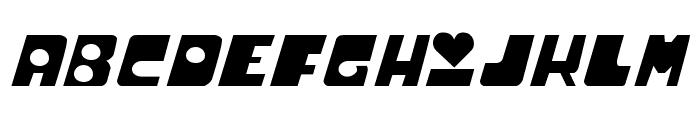 Powerpuff Font UPPERCASE