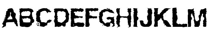 Powerwalker Font UPPERCASE
