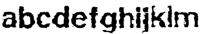 Powerwalker Font LOWERCASE