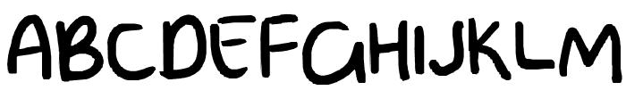 poo Font UPPERCASE