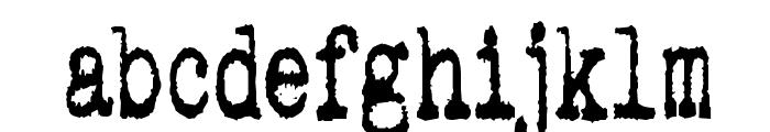 pookie stretch Font LOWERCASE
