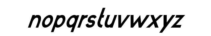 poor weekdays Bold Italic Font LOWERCASE