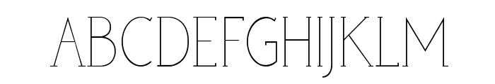 poor weekdays serif Font UPPERCASE