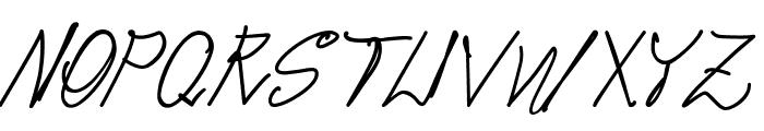 pops Font UPPERCASE