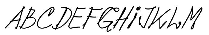 pops Font LOWERCASE