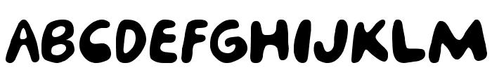 porcupine Font UPPERCASE