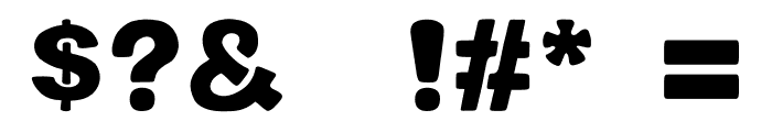 potama Font OTHER CHARS