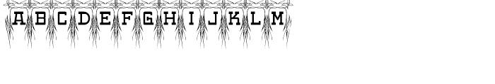 Poke Regular Font UPPERCASE