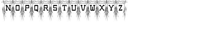Poke Regular Font LOWERCASE