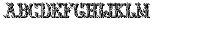Polen Shadow Font UPPERCASE