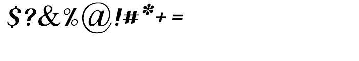 Polish Medium Italic Font OTHER CHARS