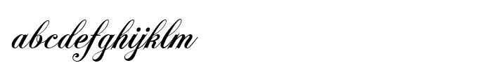Polonaise Bold Font LOWERCASE