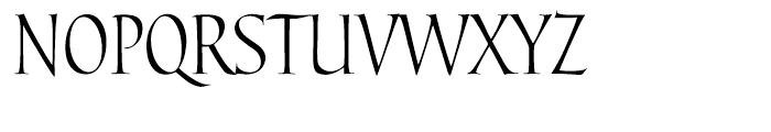 Pompeii Capitals Font UPPERCASE