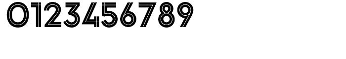 Pontiac Inline Regular Font OTHER CHARS