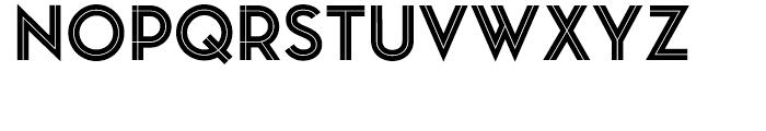 Pontiac Inline Regular Font UPPERCASE