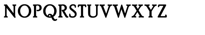PoorRichard Bold Font UPPERCASE