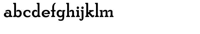 PoorRichard Bold Font LOWERCASE