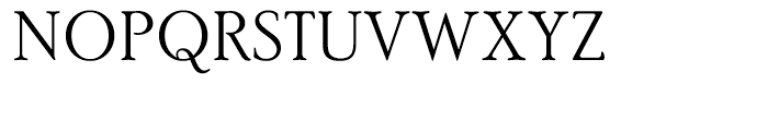 PoorRichard Light Font UPPERCASE